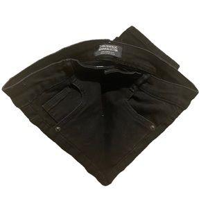 Zara skinny jeans black denim pants size 6